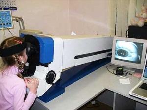 Использование бинокулярного оптометрического комплекса (БОК 1)