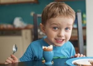 Какие яйца способны вызывать реакцию у детей?
