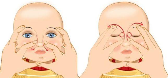 Как делать специальный массаж младенцу?
