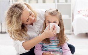 Как он связан с насморком у ребенка?
