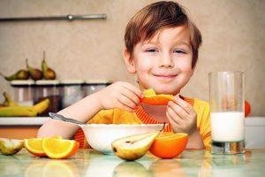 Особенности режима дня и питания ребенка
