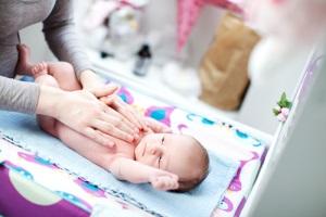 Колики у новорожденного - симптомы