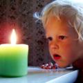 Ожог у ребенка кипятком