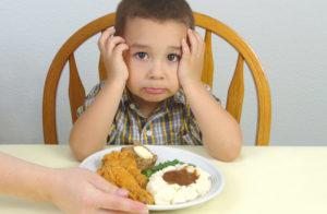 Специальная диета и меню для ребенка
