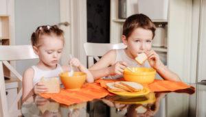 Соблюдение диеты ребенком