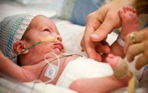 Кровоизлияния внутренних органов младенца