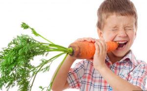 Может ли овощ вызывать аллергию у детей?