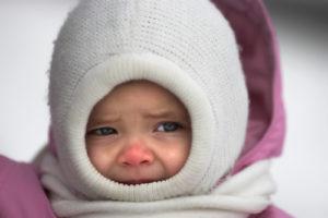 Чем опасна холодовая непереносимость для малыша?